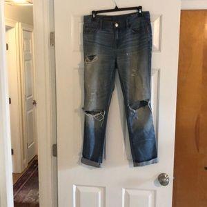 Broken in Boyfriend Jeans